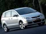 Mazda5 ZA-spec (CR) 2005–08 pictures