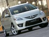 Mazda5 Sport ZA-spec (CR) 2008–10 images