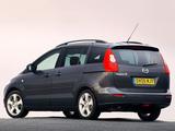 Pictures of Mazda 5 UK-spec 2005–08