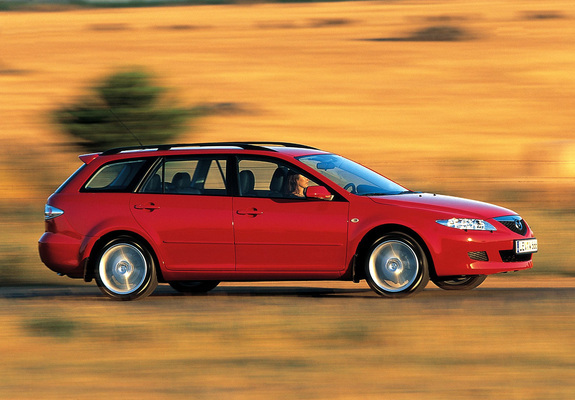 Images of Mazda 6 Wagon 2002–05
