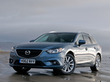 Images of Mazda6 Wagon UK-spec (GJ) 2013