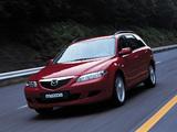 Mazda 6 Wagon 2002–05 images
