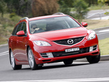 Mazda6 Wagon AU-spec (GH) 2007–10 wallpapers