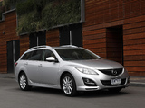 Mazda6 Wagon AU-spec (GH) 2010–12 wallpapers