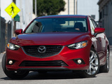 Mazda6 US-spec (GJ) 2013 pictures