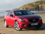 Mazda6 Sedan UK-spec (GJ) 2013 wallpapers