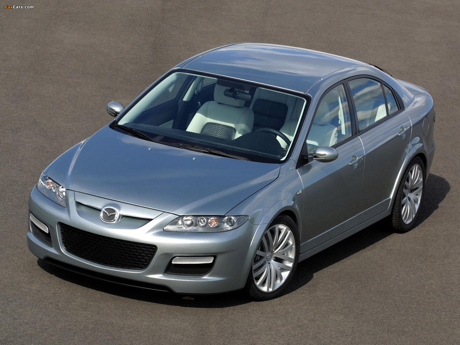 Photos of Mazda6 MPS Concept (GG) 2002 (1600 x 1200)
