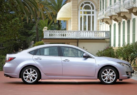 photos of mazda 6 hatchback 2008–10