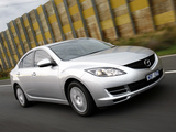 Pictures of Mazda6 Sedan AU-spec (GH) 2007–10