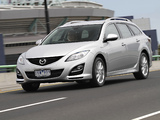 Pictures of Mazda6 Wagon AU-spec (GH) 2010–12