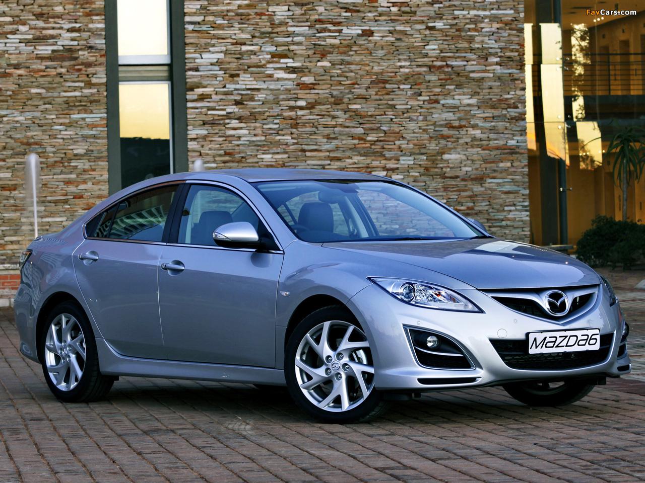 Pictures of Mazda6 Sedan ZA-spec (GH) 2010–12 (1280 x 960)