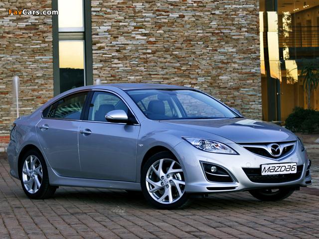 Pictures of Mazda6 Sedan ZA-spec (GH) 2010–12 (640 x 480)