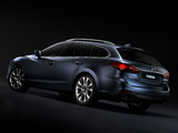 Pictures of Mazda6 Wagon (GJ) 2013