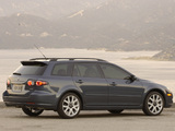 Mazda6 Sport Wagon US-spec (GY) 2005–07 wallpapers