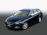 Mazda6 Wagon (GH) 2007–10 wallpapers