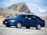 Images of Mazda 626 Hatchback (GF) 1999–2002