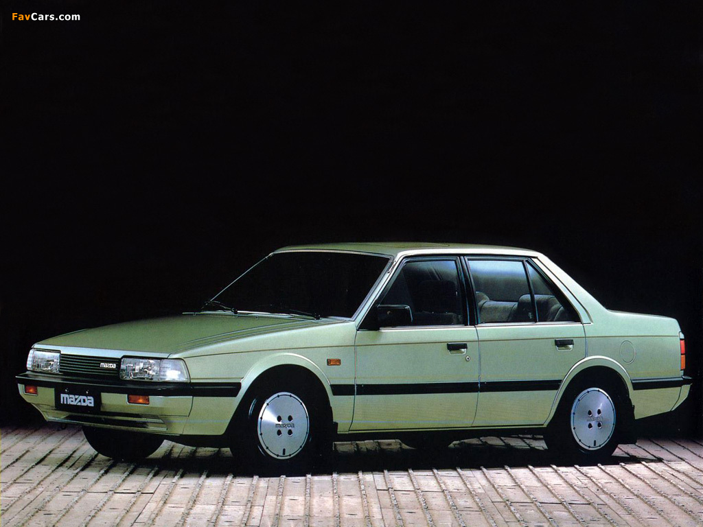 Mazda 626 Sedan (GC) 1982–87 wallpapers