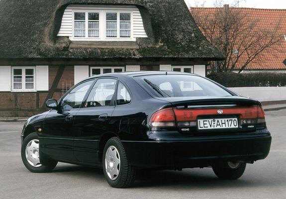 Mazda 626 Hatchback (GE) 1992–97 wallpapers