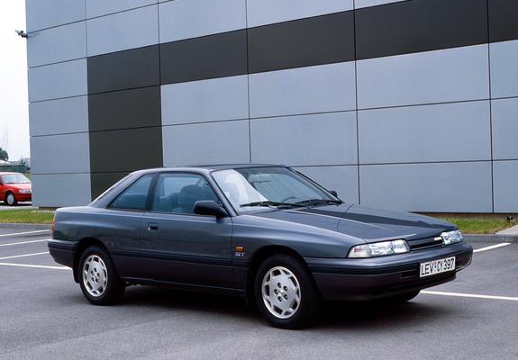 photos of mazda 626 coupe (gd) 1987–91