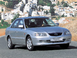 Photos of Mazda 626 Sedan (GF) 1997–2002