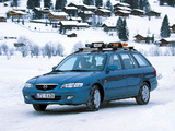 Photos of Mazda 626 Wagon (GF) 1999–2002