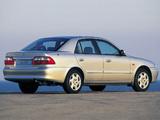 Pictures of Mazda 626 Sedan (GF) 1997–2002