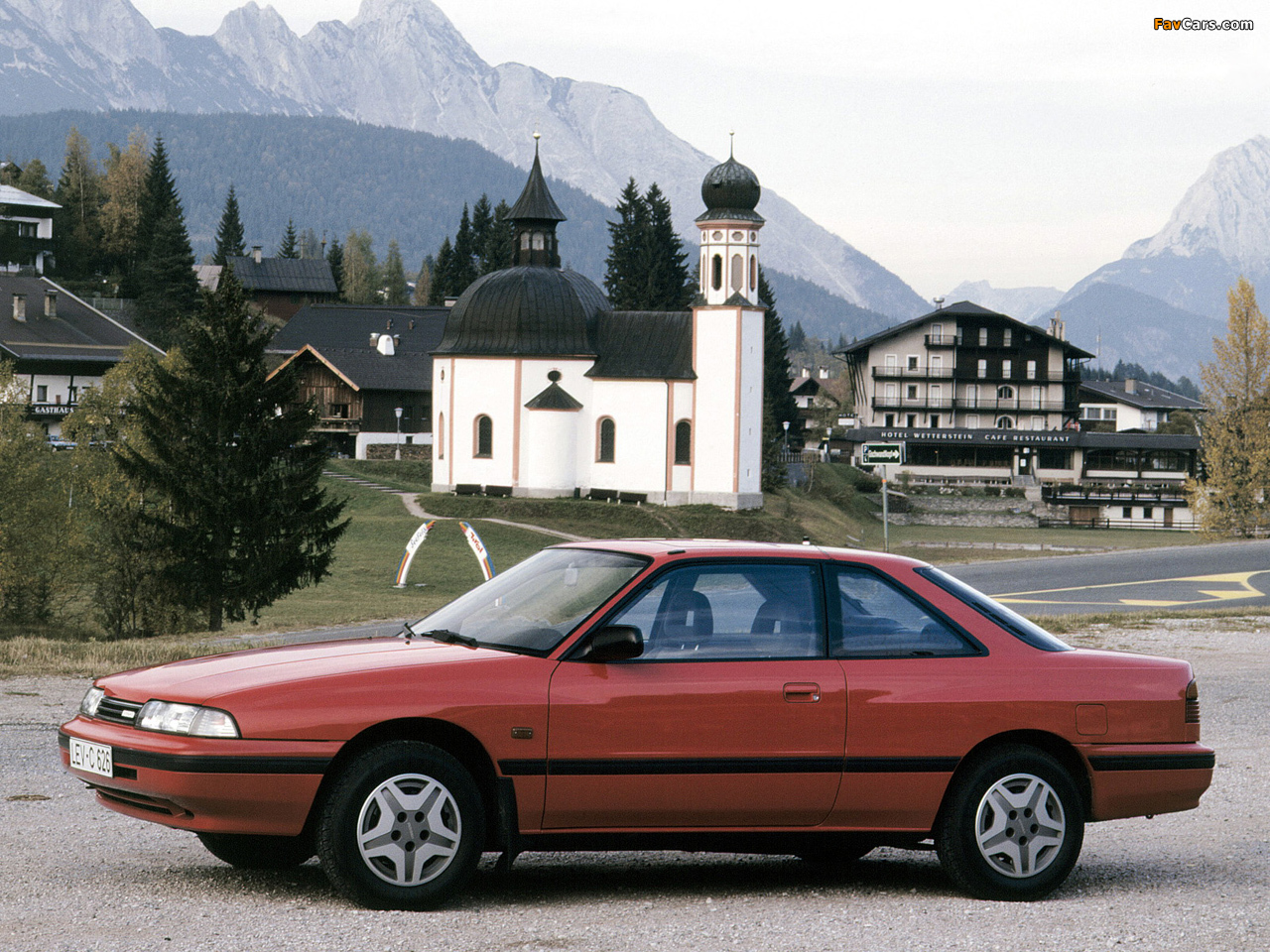 mazda 626 coupe (gd) 1987–91 wallpapers (1280x960)