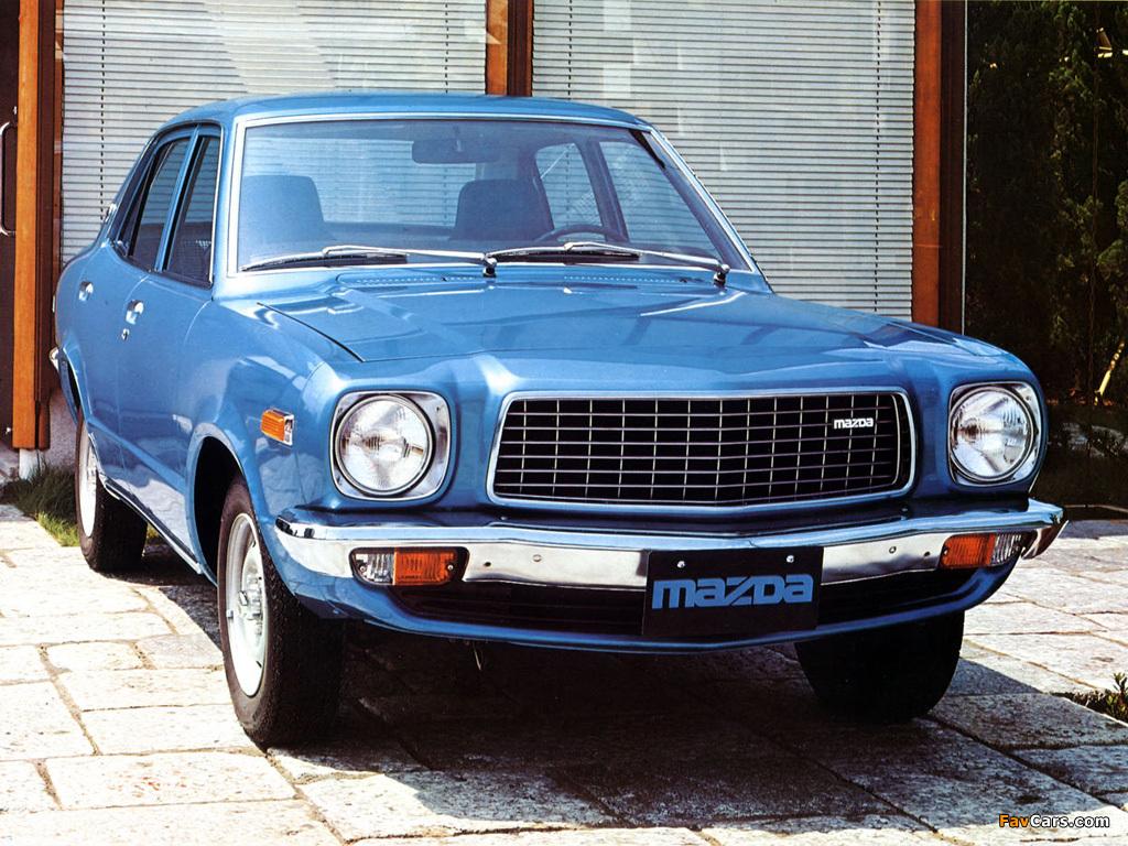 Images of Mazda 818 Sedan 1974–77 (1024 x 768)