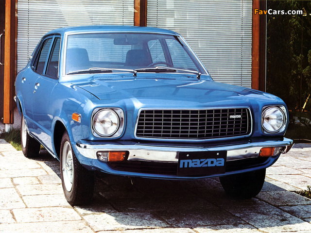 Images of Mazda 818 Sedan 1974–77 (640 x 480)