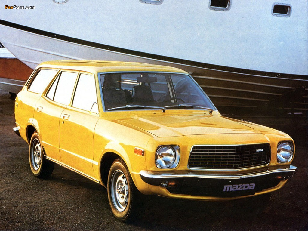 Mazda 818 Station Wagon 1974–77 photos (1024 x 768)