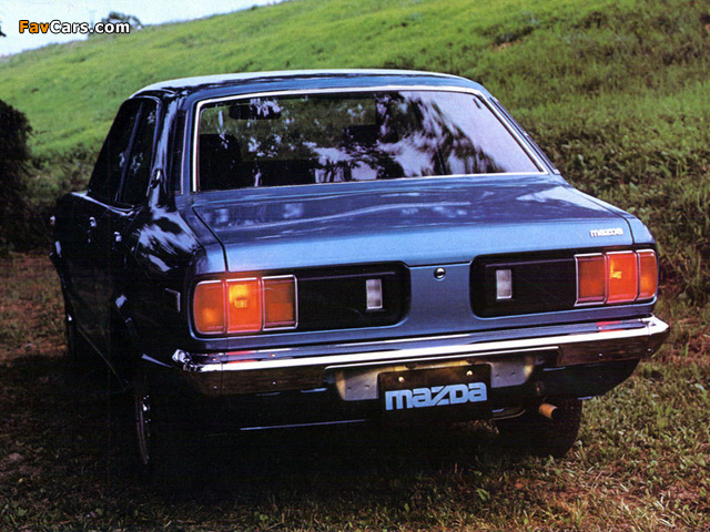 Mazda 818 Sedan 1974–77 pictures (640 x 480)