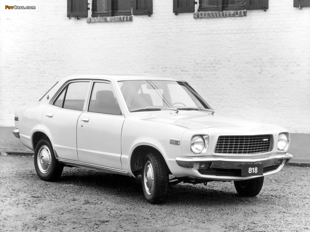 Mazda 818 Sedan 1974–77 wallpapers (1024 x 768)