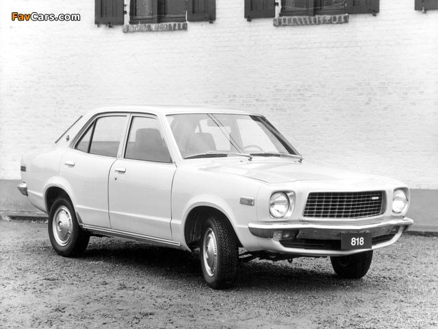 Mazda 818 Sedan 1974–77 wallpapers (640 x 480)