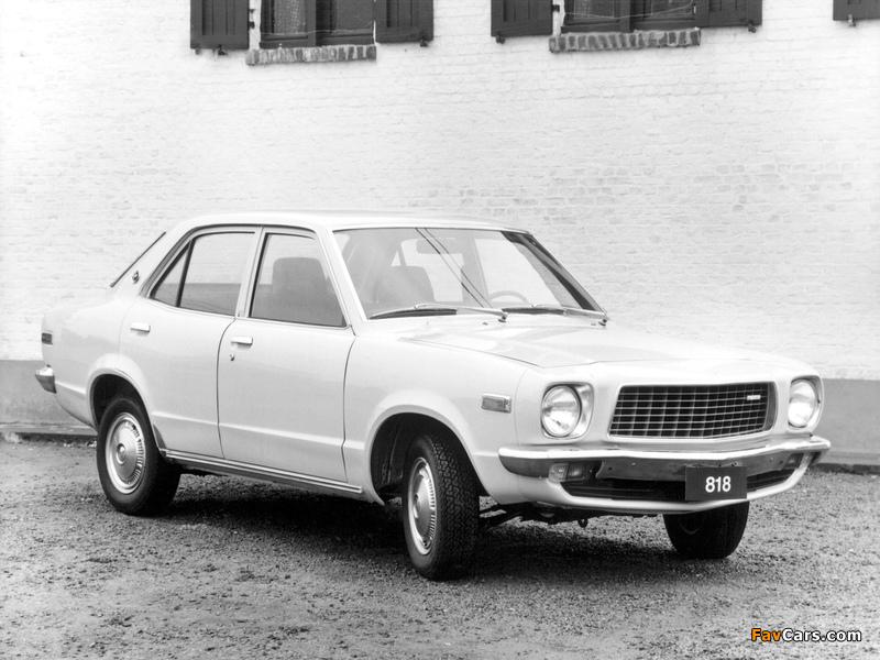 Mazda 818 Sedan 1974–77 wallpapers (800 x 600)