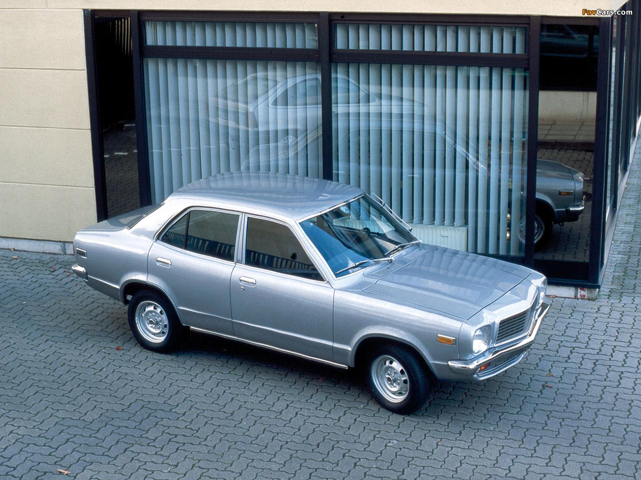 Photos of Mazda 818 Sedan 1974–77 (1280 x 960)
