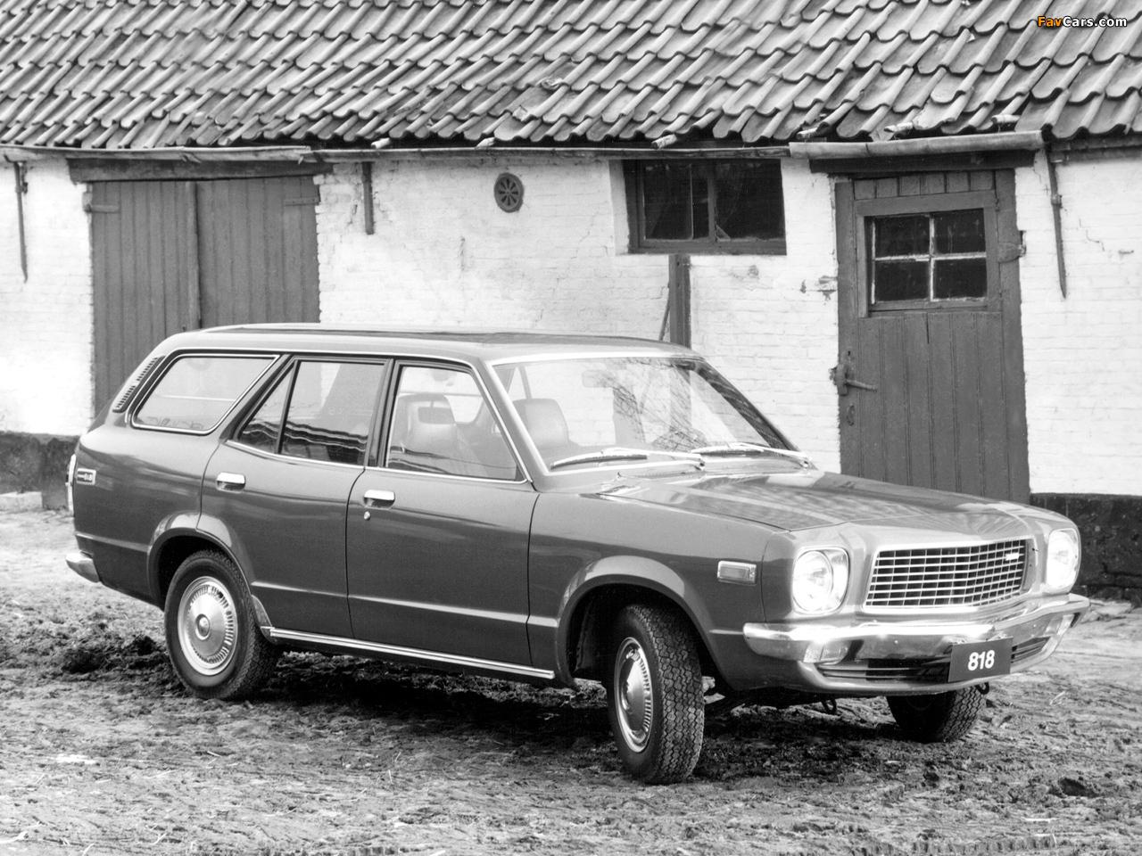 Mazda 818 Station Wagon 1974–77 wallpapers (1280 x 960)