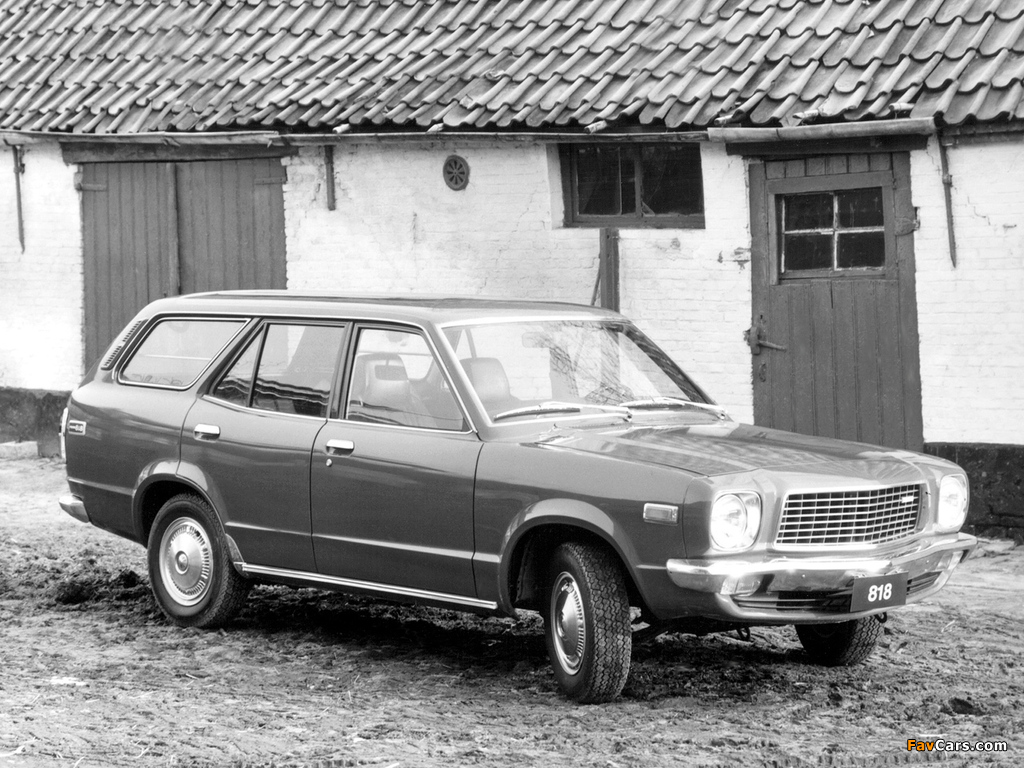 Mazda 818 Station Wagon 1974–77 wallpapers (1024 x 768)
