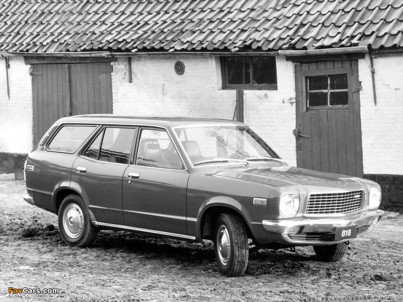 Mazda 818 Station Wagon 1974–77 wallpapers (800 x 600)