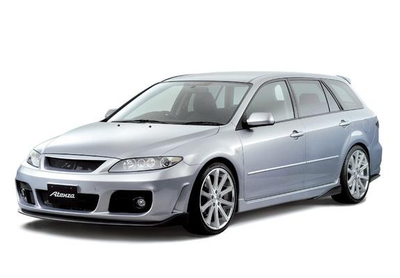 Photos Of Mazda Atenza Sport Wagon Gialla 2005