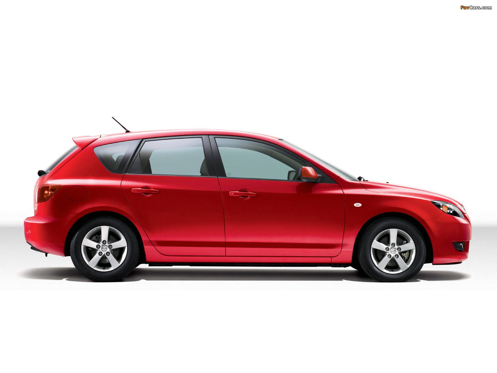 Mazda Axela Sport 20C 2003–08 wallpapers (1600 x 1200)