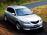 Mazda Axela Sport 20C 2003–08 wallpapers