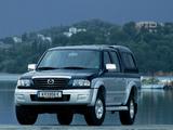 Mazda B2500 Turbo 4×4 Double Cab Accessorized 2002–06 photos