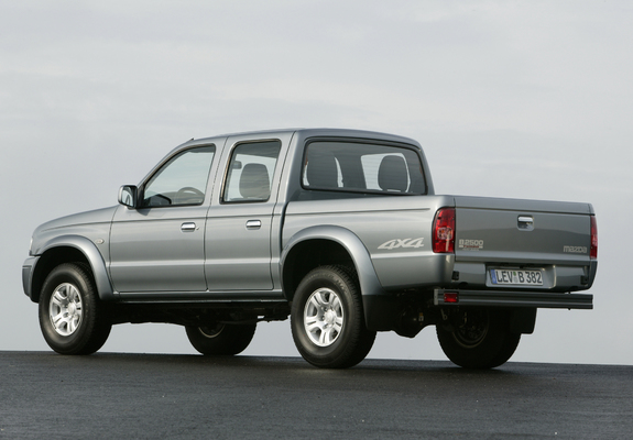 Mazda B2500 Turbo 44 Double Cab 200206 Pictures