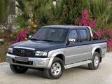 Photos of Mazda B2500 Double Cab 2003–06