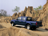 Pictures of Mazda B2500 Turbo 4×4 Double Cab 2002–06