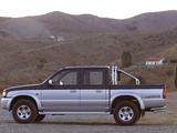 Pictures of Mazda B2500 Turbo 4×4 Double Cab Accessorized 2002–06