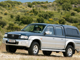 Mazda B2500 Turbo 4×4 Double Cab Accessorized 2002–06 wallpapers