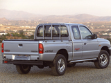 Mazda B2500 Turbo 4×4 Freestyle Cab 2002–06 wallpapers