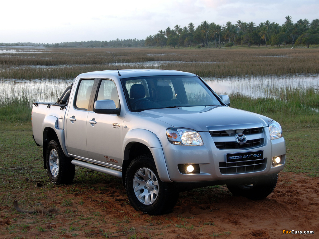 Images of Mazda BT-50 Drifter 3000D Double Cab 2006–08 (1024 x 768)