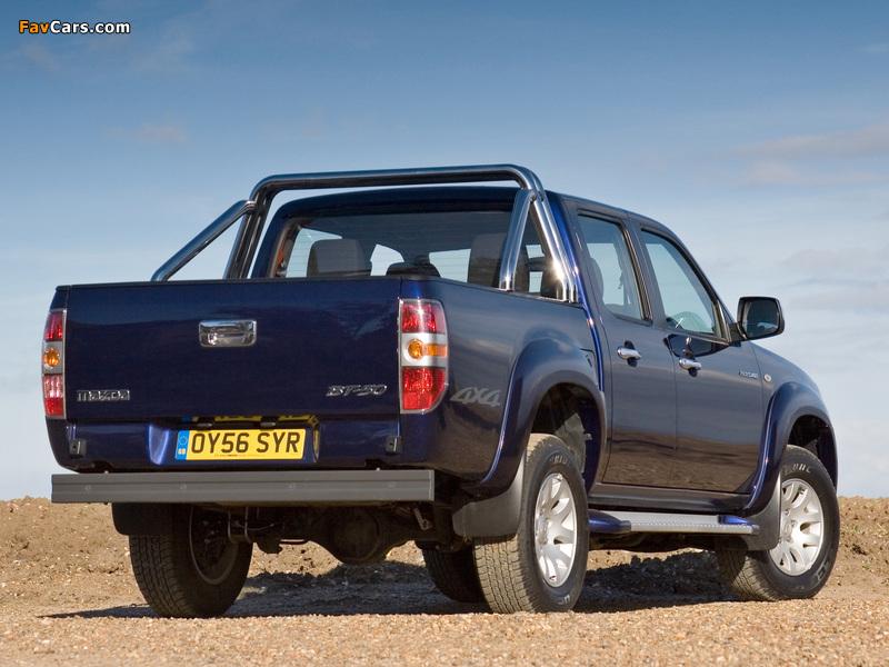 Images of Mazda BT-50 Double Cab UK-spec (J97M) 2006–08 (800 x 600)